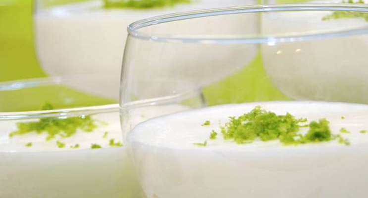 Lime-Coconut Mousse