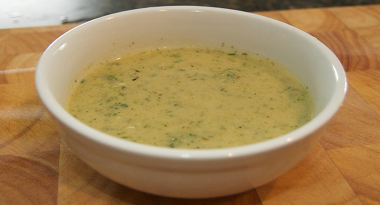 Healthy Cream of Broccoli Soup