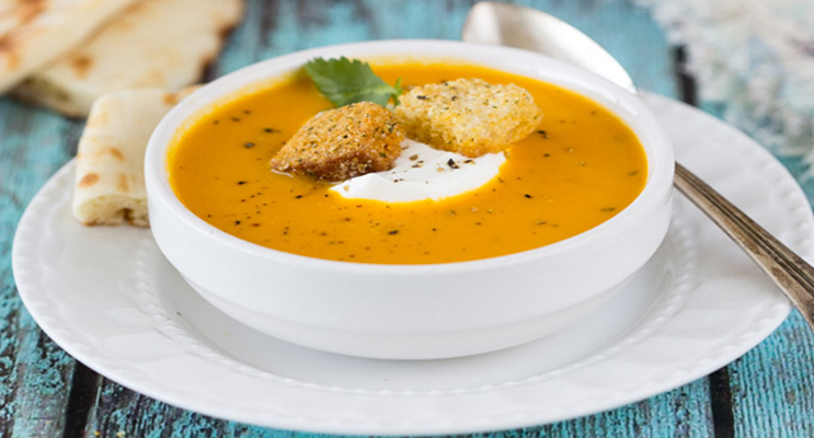 Creamy Curried Carrot Soup